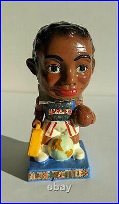 Vintage RARE MINT NEW NIB 1962 Harlem Globetrotters Bobblehead Nodder BB253