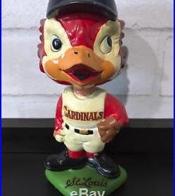 Vintage St. Louis Cardinals Baseball Bobble Head BobbleHead Nodder 1960