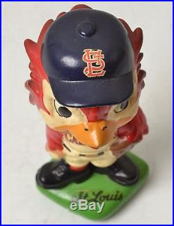 Vintage St. Louis Cardinals Mascot Red Bird Bobble Head Baseball