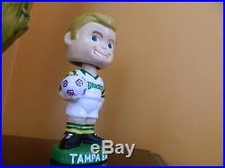 Vintage Tampa Bay Rowdies bobble head NASL very unique 7 tall