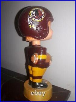 Vintage Washington Redskins Bobble VINTAGE WASHINGTON FOOTBALL BOBBLEHEAD