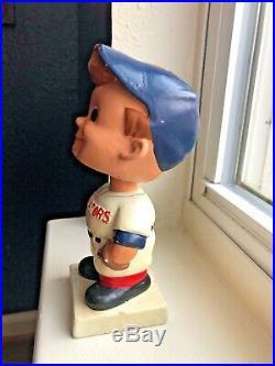 Vintage Washington Senators Bobble Head Nodder White Base