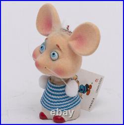 Vntg 1960's Topo Gigio Shogakukan Japan Bobble Head Nodder Mouse MARIA PEREGO Bl