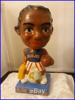 Vtg 1963 Harlem Globetrotters Bobble Head Basketball Sports Memorabilia Dated