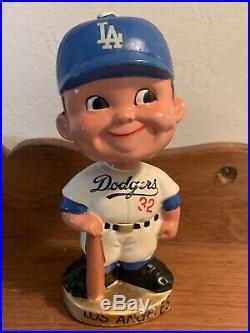 Vtg RARE! 1960s LA Dodgers Sandy Koufax Bobblehead 6.5 Japan