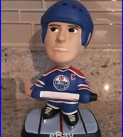 Wayne Gretzky Edmonton Oilers Catman nodder bobblehead cat man vtg Kings Blues