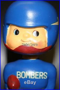 Winnipeg Blue Bombers CFL Football Vintage Original Bobble Head Nodder 1960's